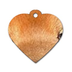 Chow Chow Eyes Dog Tag Heart (One Side)