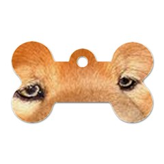 Chow Chow Eyes Dog Tag Bone (Two Sides)