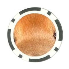 Chow Chow Eyes Poker Chip Card Guard