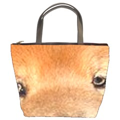 Chow Chow Eyes Bucket Bags