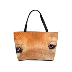 Chow Chow Eyes Shoulder Handbags