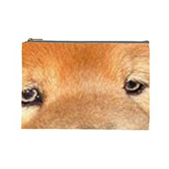Chow Chow Eyes Cosmetic Bag (Large)