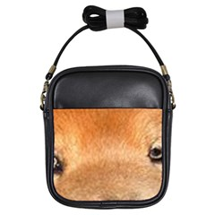 Chow Chow Eyes Girls Sling Bags