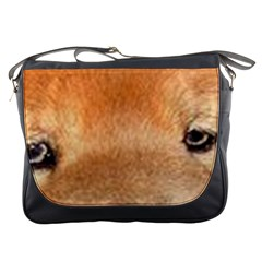 Chow Chow Eyes Messenger Bags