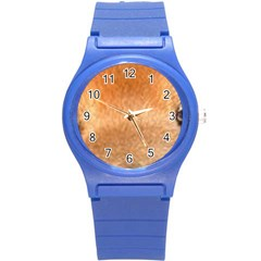 Chow Chow Eyes Round Plastic Sport Watch (S)