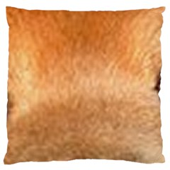 Chow Chow Eyes Large Cushion Case (One Side)