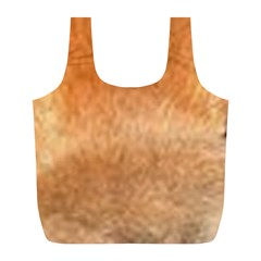 Chow Chow Eyes Full Print Recycle Bags (L)