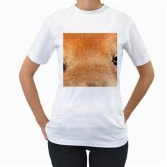 Chow Chow Eyes Women s T-Shirt (White)