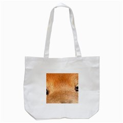 Chow Chow Eyes Tote Bag (White)
