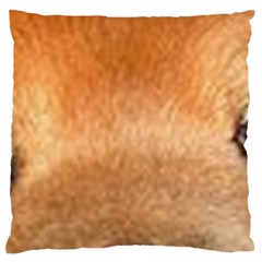 Chow Chow Eyes Large Flano Cushion Case (Two Sides)