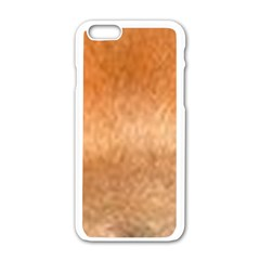 Chow Chow Eyes Apple iPhone 6/6S White Enamel Case
