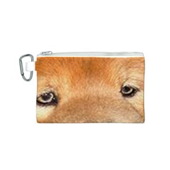 Chow Chow Eyes Canvas Cosmetic Bag (S)
