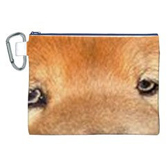 Chow Chow Eyes Canvas Cosmetic Bag (XXL)