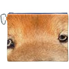 Chow Chow Eyes Canvas Cosmetic Bag (XXXL)
