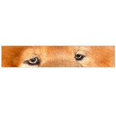 Chow Chow Eyes Flano Scarf (Large)
