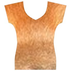Chow Chow Eyes Women s V-Neck Cap Sleeve Top