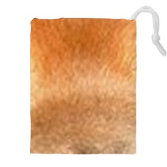 Chow Chow Eyes Drawstring Pouches (XXL)