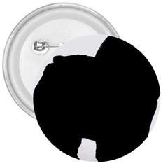 Chow Chow Silo Black 3  Buttons