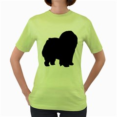 Chow Chow Silo Black Women s Green T-Shirt