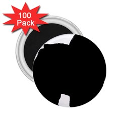 Chow Chow Silo Black 2.25  Magnets (100 pack)