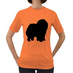Chow Chow Silo Black Women s Dark T-Shirt