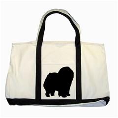 Chow Chow Silo Black Two Tone Tote Bag