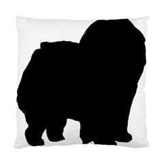 Chow Chow Silo Black Standard Cushion Case (Two Sides)
