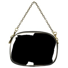 Chow Chow Silo Black Chain Purses (Two Sides)