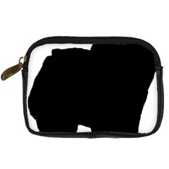 Chow Chow Silo Black Digital Camera Cases