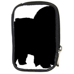 Chow Chow Silo Black Compact Camera Cases