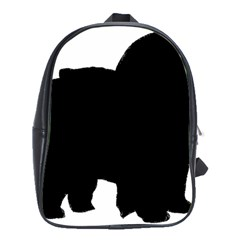 Chow Chow Silo Black School Bags(Large)