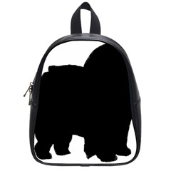 Chow Chow Silo Black School Bags (Small)