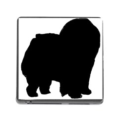 Chow Chow Silo Black Memory Card Reader (Square)