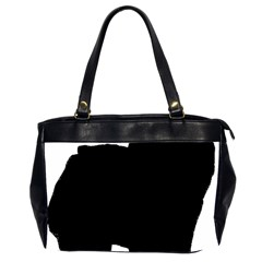 Chow Chow Silo Black Office Handbags (2 Sides)