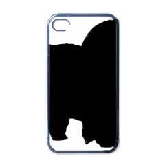 Chow Chow Silo Black Apple iPhone 4 Case (Black)