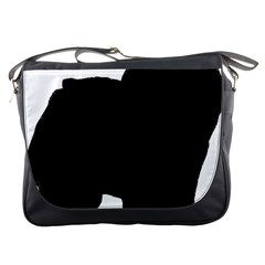 Chow Chow Silo Black Messenger Bags