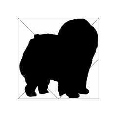 Chow Chow Silo Black Acrylic Tangram Puzzle (4  x 4 )