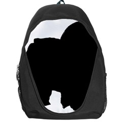 Chow Chow Silo Black Backpack Bag