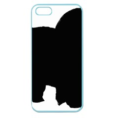 Chow Chow Silo Black Apple Seamless iPhone 5 Case (Color)