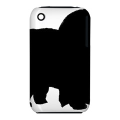 Chow Chow Silo Black iPhone 3S/3GS