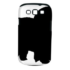 Chow Chow Silo Black Samsung Galaxy S III Classic Hardshell Case (PC+Silicone)