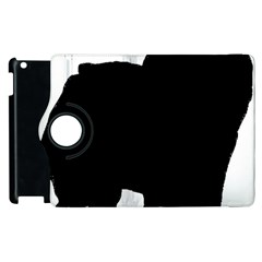 Chow Chow Silo Black Apple iPad 2 Flip 360 Case