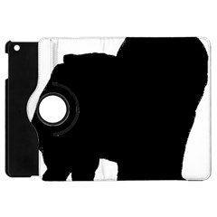 Chow Chow Silo Black Apple iPad Mini Flip 360 Case