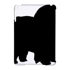 Chow Chow Silo Black Apple iPad Mini Hardshell Case (Compatible with Smart Cover)