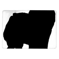 Chow Chow Silo Black Samsung Galaxy Tab 10.1  P7500 Flip Case