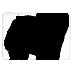 Chow Chow Silo Black Samsung Galaxy Tab 8.9  P7300 Flip Case