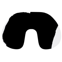 Chow Chow Silo Black Travel Neck Pillows
