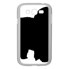 Chow Chow Silo Black Samsung Galaxy Grand DUOS I9082 Case (White)