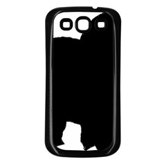 Chow Chow Silo Black Samsung Galaxy S3 Back Case (Black)