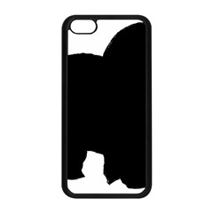 Chow Chow Silo Black Apple iPhone 5C Seamless Case (Black)